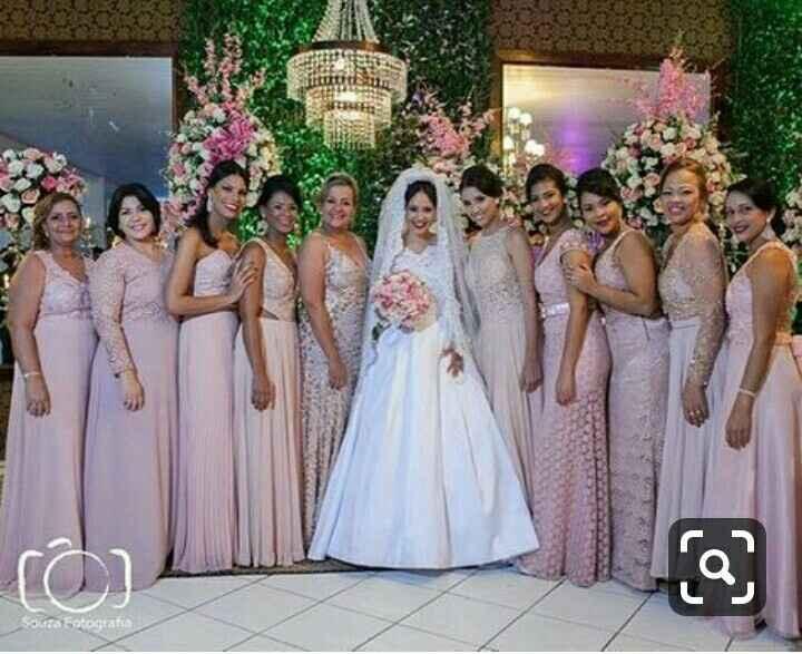 Madrinhas de marsala, qual a cor para as mães dos noivos? - 1