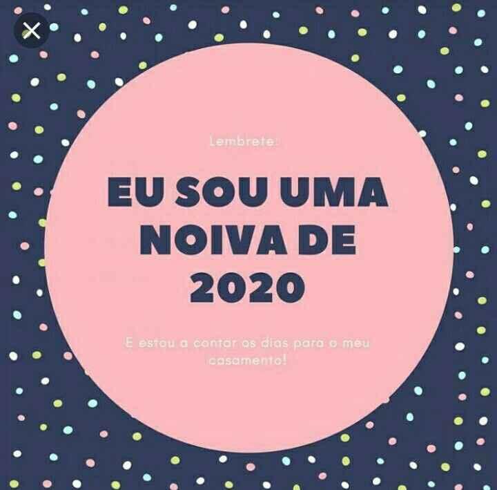 Noivinhas de 2020 ✨ - 1