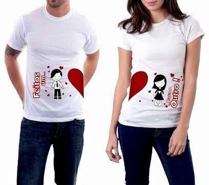 c97e73a1bb Camisetas personalizadas de casal