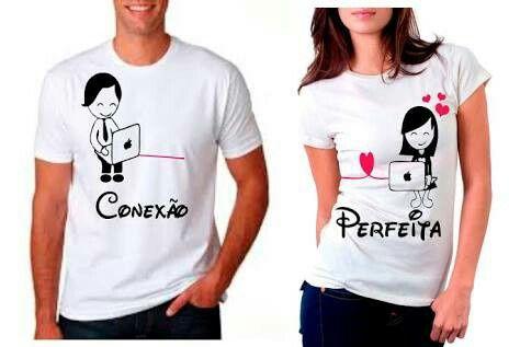 a6bd3f0be Camisetas personalizadas de casal - 3