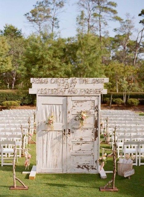 Suficiente Portas para casamento ao ar livre #vemver PO91
