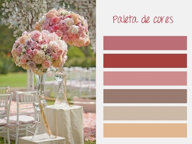 Paleta de cores/decoração