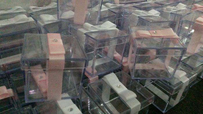 Minhas caixinha de acrílico para bem casados. ..#vem_ver - 1