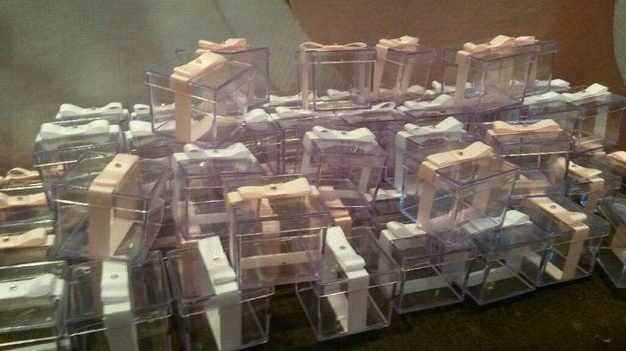 Minhas caixinha de acrílico para bem casados. ..#vem_ver - 3