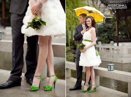 6a6a95335b Pode a noiva usar sapatos coloridos