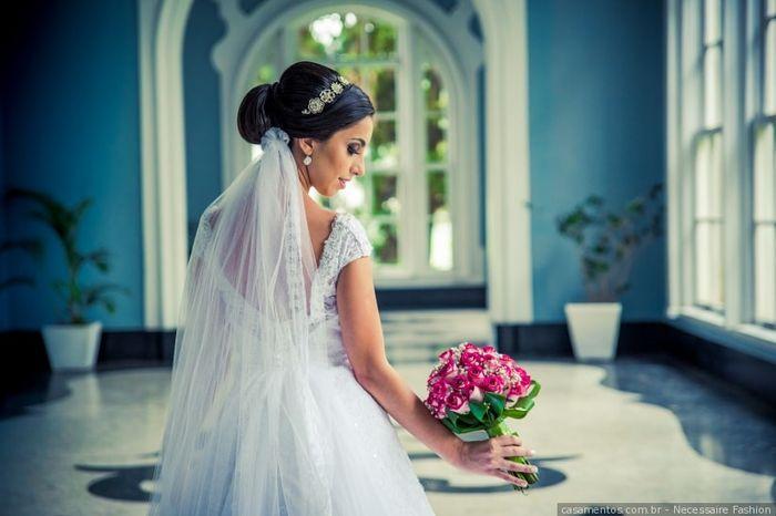 Como seria o seu penteado de noiva ideal? 1