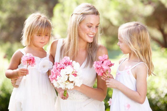 Quantos pajens e daminhas terá no seu casamento? 1