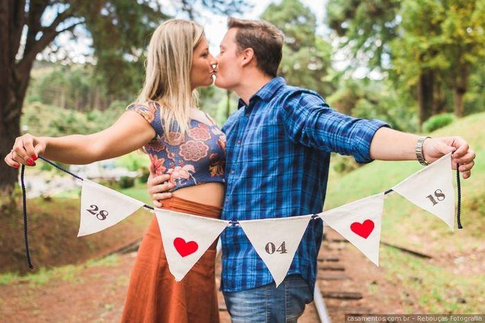 Seu convite de casamento entre 7 escolhas! 1