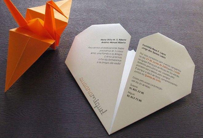 Seu convite de casamento: o envelope 3
