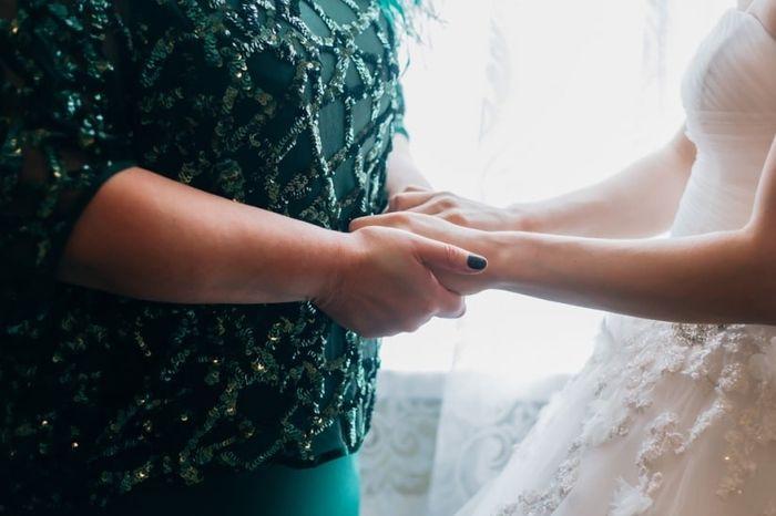 Padronizar as mães dos noivos: o que você opina? 1