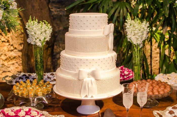 Fábrica de casamentos: o bolo 1