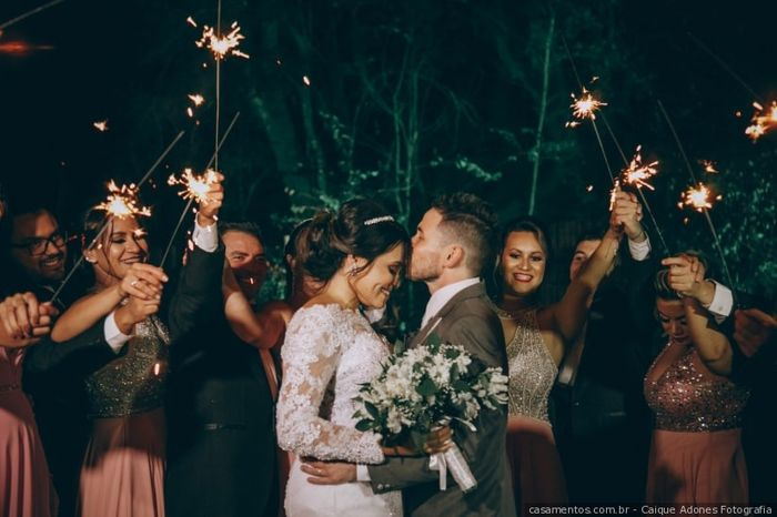 Sparkles para os noivos: Like ou Dislike? 1
