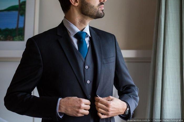 Clássica ou diferentona: o traje do noivo 1