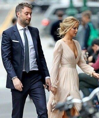 Jennifer Lawrence se casa em mansão de 1894, em cerimônia quase secreta 3
