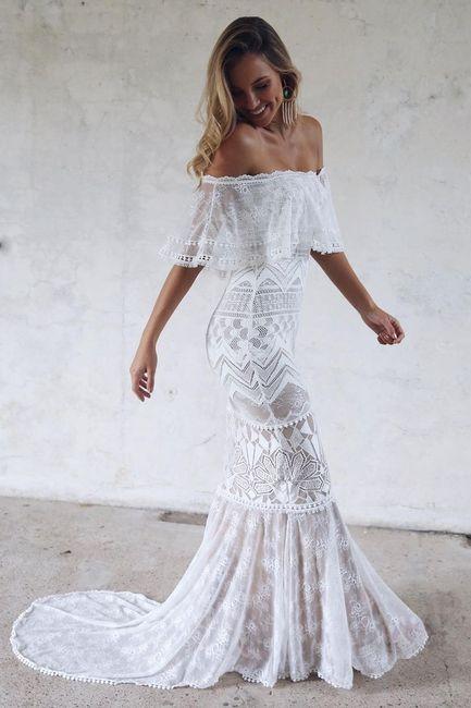 Usaria um vestido de noiva de 2ª mão? 1