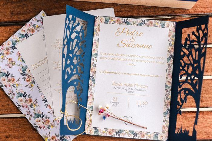 Convite para casamento boho: qual você salva? 1