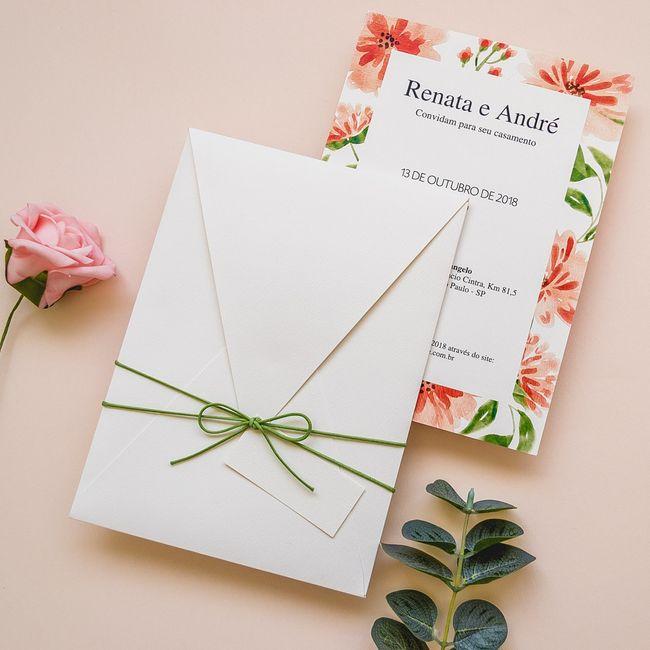 Convite para casamento boho: qual você salva? 3