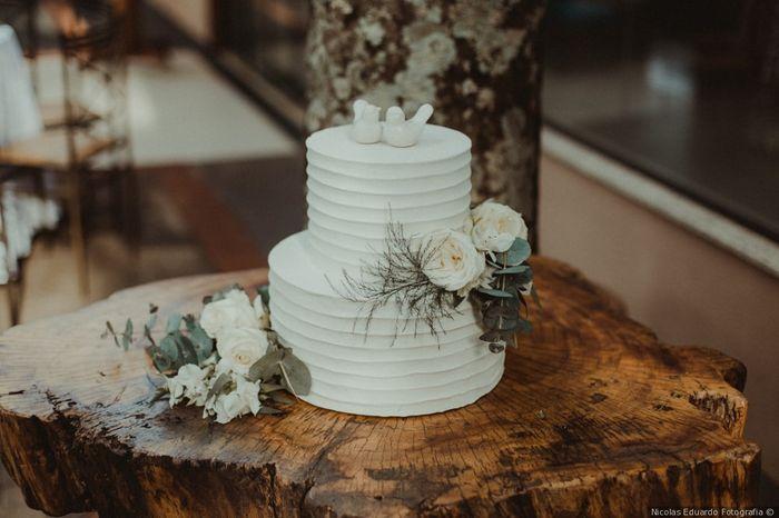 Bolo para casamento clássico: qual você salva? 2