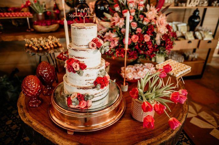 Bolo para casamento clássico: qual você salva? 1