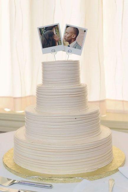 Como você customizaria este bolo de casamento? VOTE! 1
