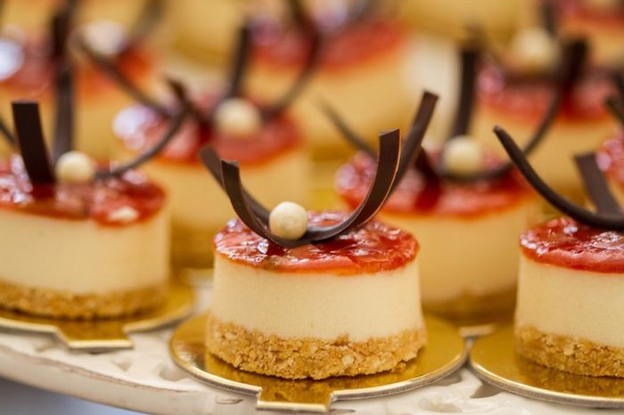 4 ideias! Como você serviria um cheesecake no seu casamento? 🍮 3
