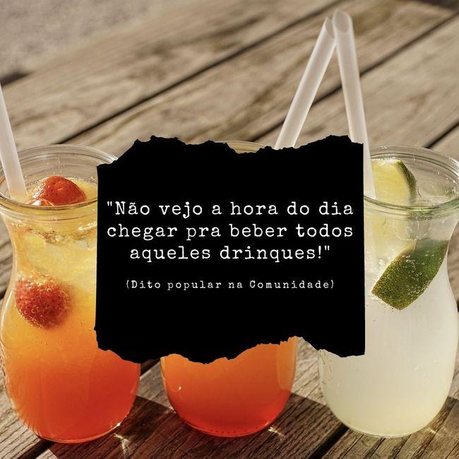 Festa boa pra você tem que ter álcool ou você dispensa o álcool? 1