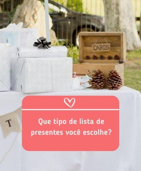 3 tipos de listas de presentes: escolha uma! 2