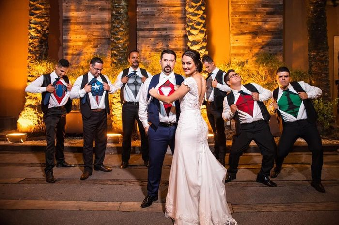Algo temático no casamento... qual destes temas você escolheria? 5