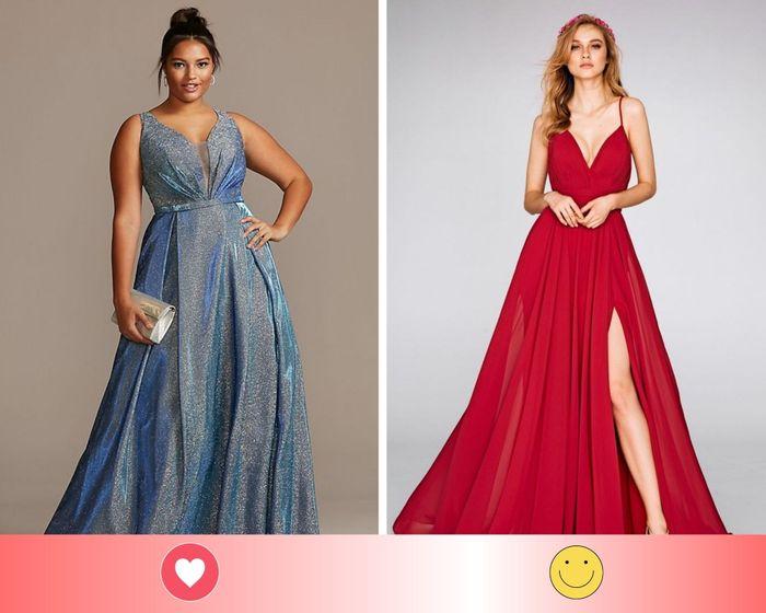 2 vestidos para madrinhas: escolha UM 2