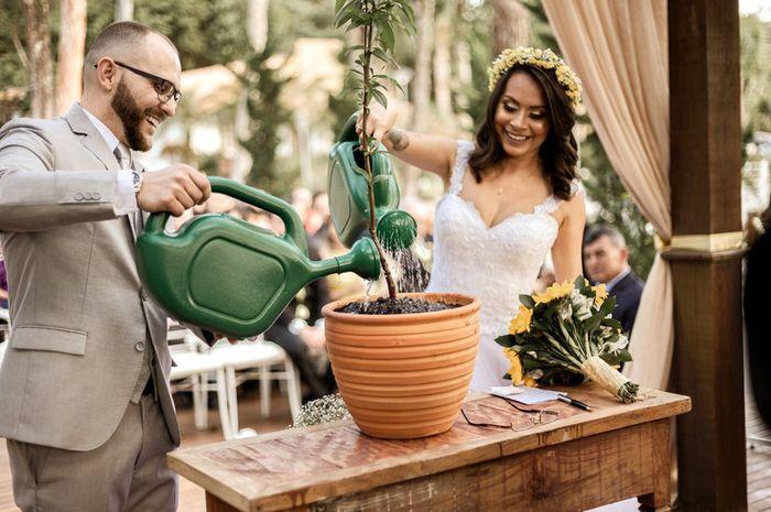 Ritual da árvore na cerimônia: já viu isso?! 🌳 1