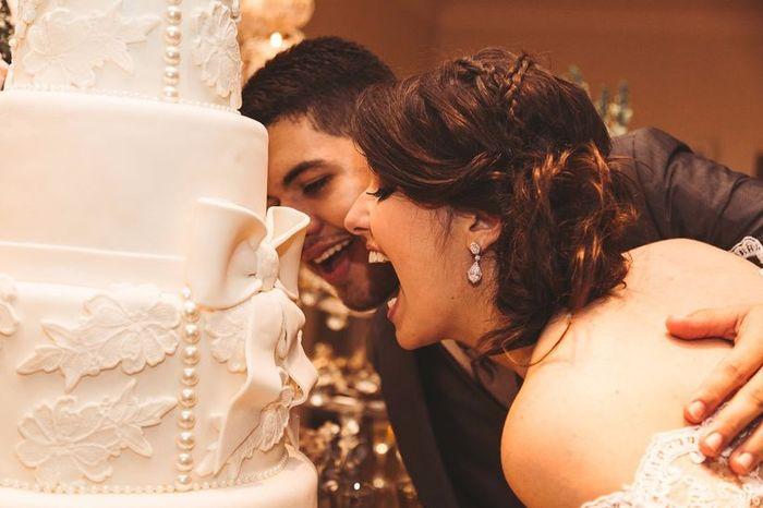 Quantos andares terá (ou teve) o seu bolo de casamento? 🍰 1