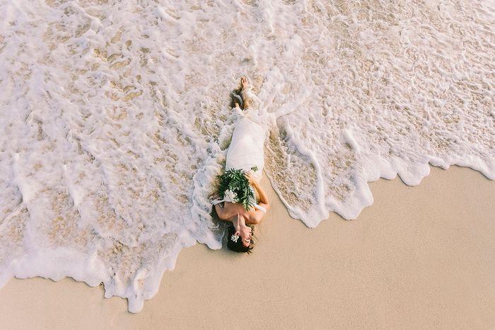Trash the dress: que lugar você escolheria para 'sujar o vestido de noiva'? 📸 2