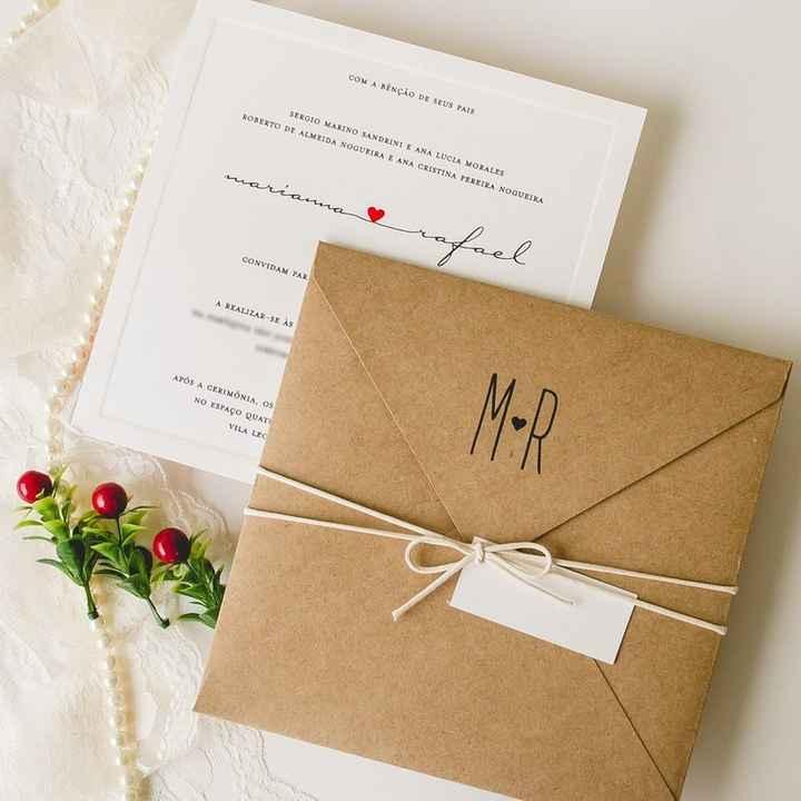 Convite de casamentos: dúvidas e respostas! ✉ - 1