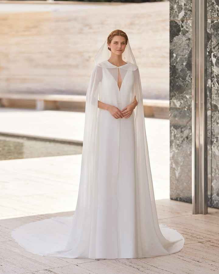 Rosa Clará lança sua 1ª coleção de casaquinhos, jaquetas e capas para noivas! 👰 - 4
