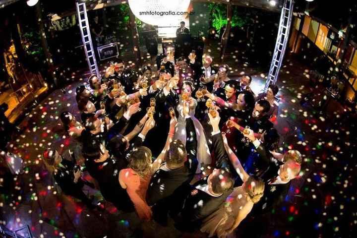 Casamento sem pista de dança: faria ou não faria? - 1