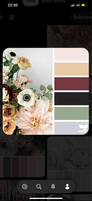 Paleta de cores. 1