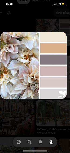 Paleta de cores. 2