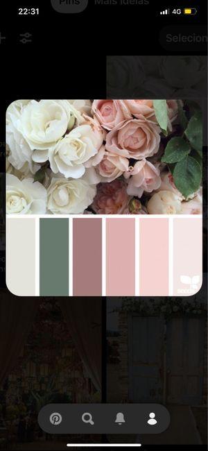 Paleta de cores. 3