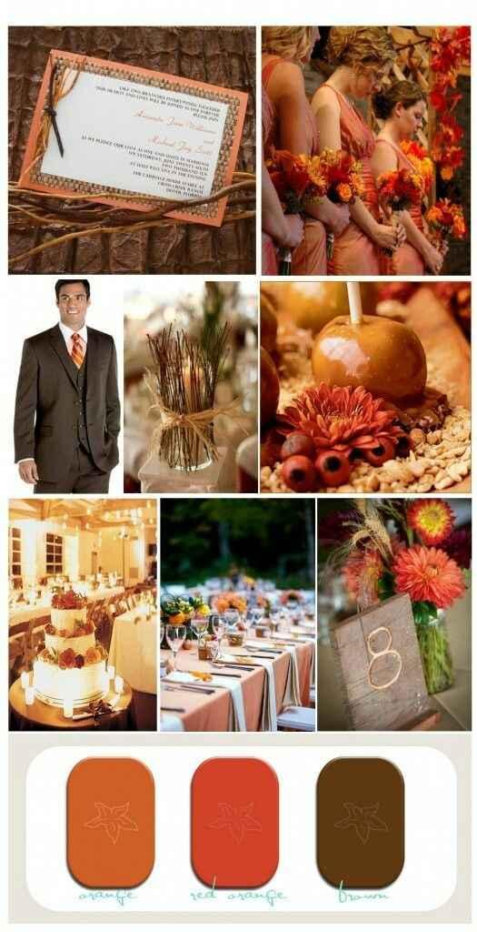 """Paletas de cores: """"20 cores inusitadas para você usar no seu casamento""""#vemver *--* - 3"""