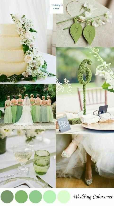 """Paletas de cores: """"20 cores inusitadas para você usar no seu casamento""""#vemver *--* - 4"""