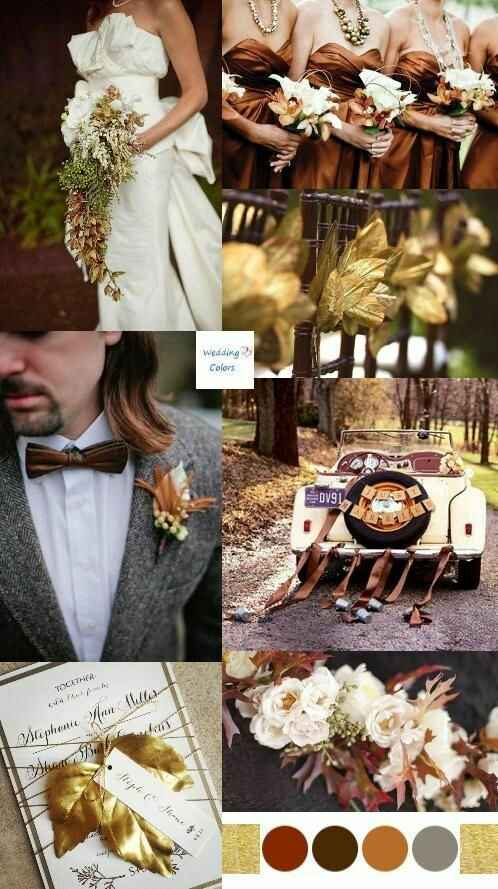"""Paletas de cores: """"20 cores inusitadas para você usar no seu casamento""""#vemver *--* - 7"""