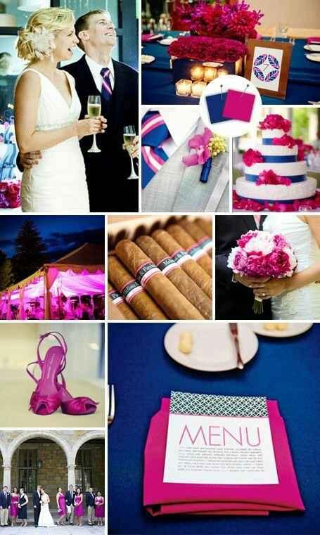 """Paletas de cores: """"20 cores inusitadas para você usar no seu casamento""""#vemver *--* - 13"""