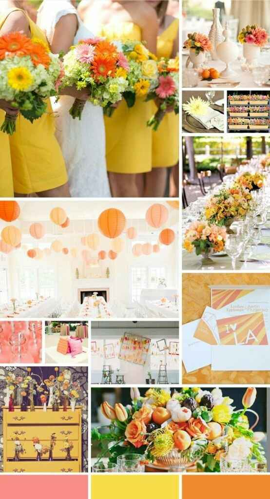 """Paletas de cores: """"20 cores inusitadas para você usar no seu casamento""""#vemver *--* - 14"""