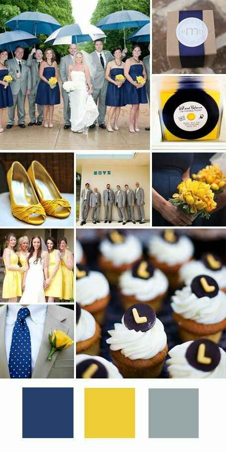 """Paletas de cores: """"20 cores inusitadas para você usar no seu casamento""""#vemver *--* - 15"""