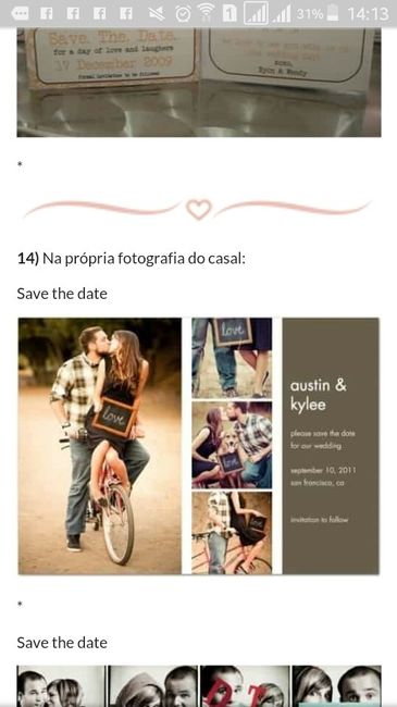 15 idéias pro seu save the date - 1