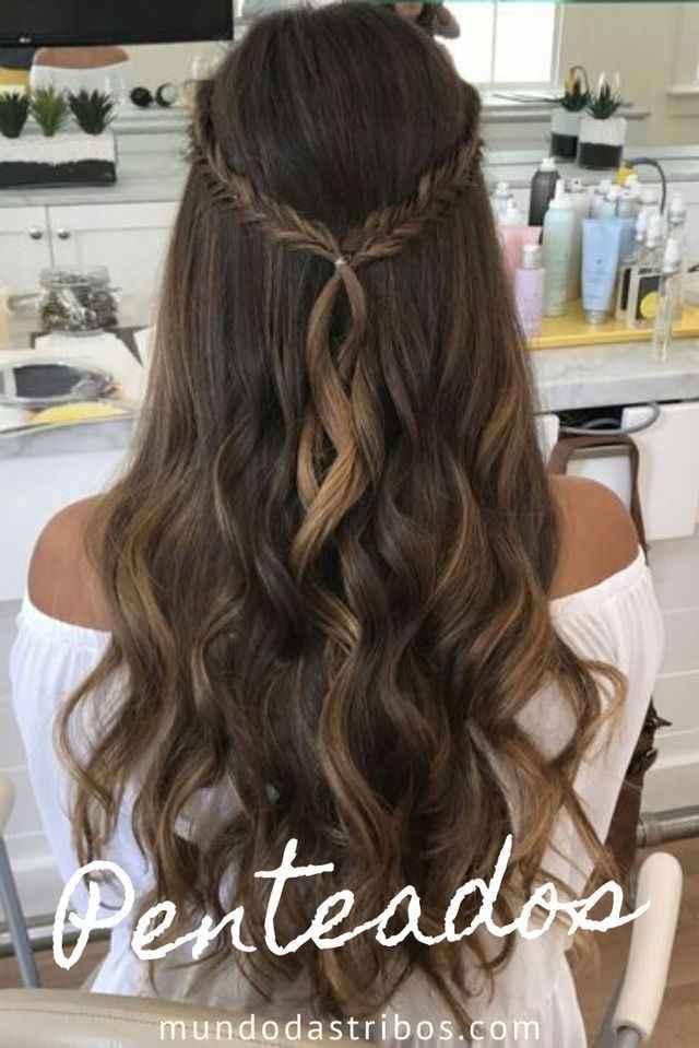 Penteado para pré wedding - 2