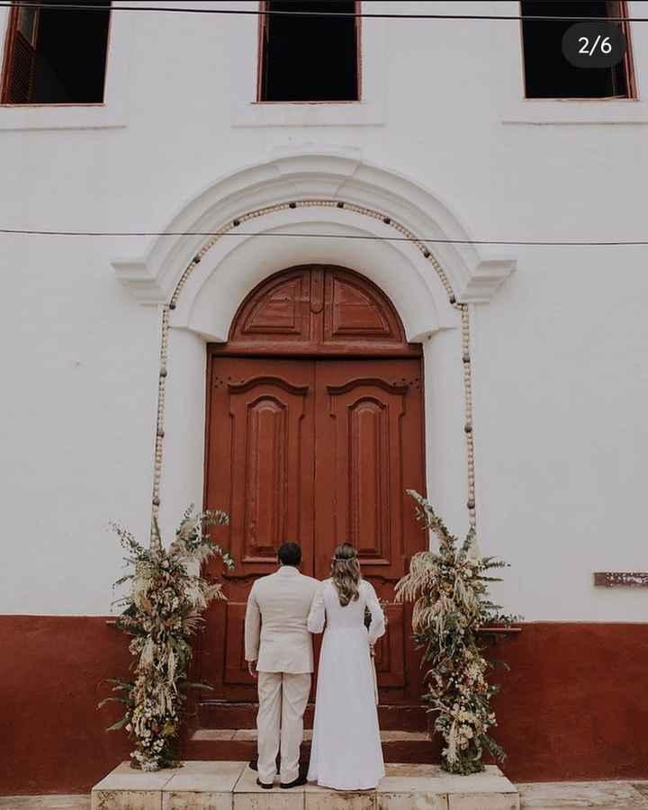 Casamento rústico na igreja ? - 2