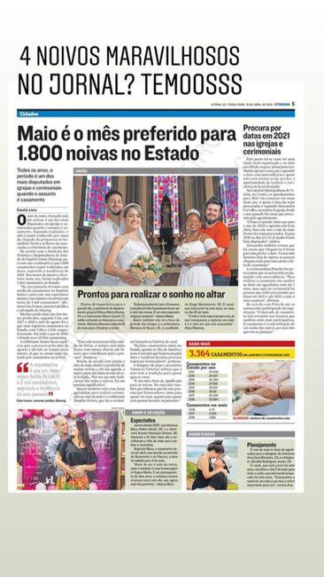 Capa de Jornal ❤️ 2