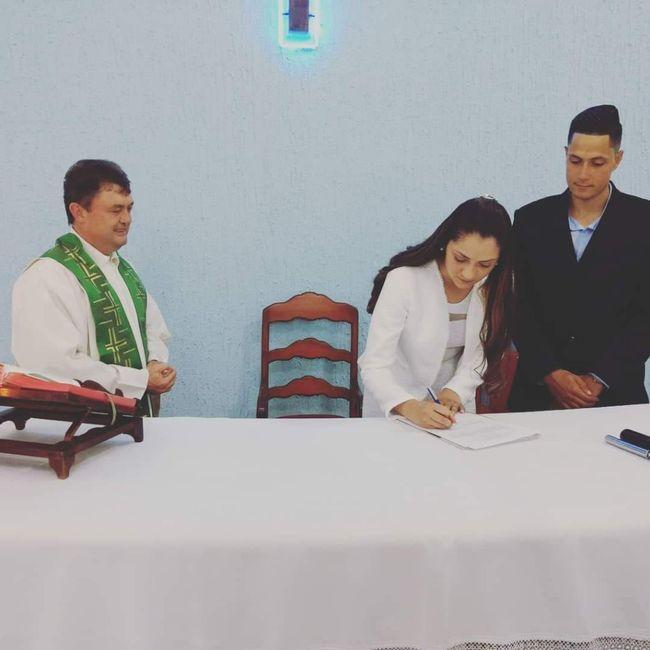 Realizando Casamento fora da Igreja Católica - Nossa Experiência... 6