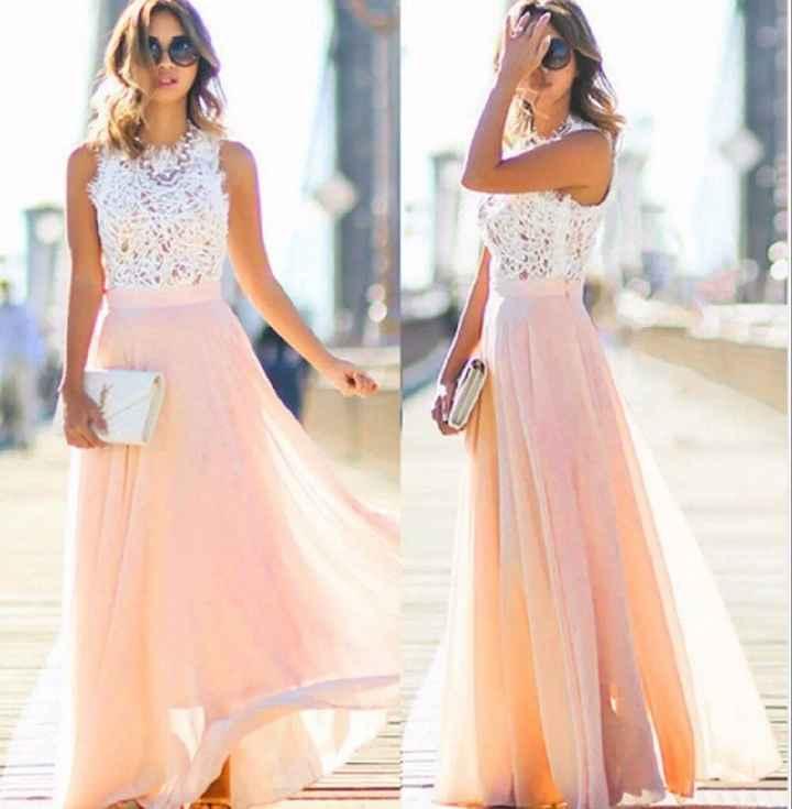 Vestido de noivado - 1